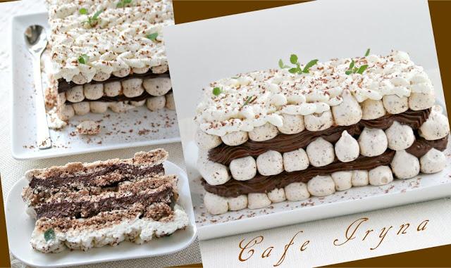 Мятно-шоколадный торт-десерт2